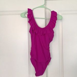 Bathing suit never worn side XS